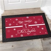 Winter Wonderland Personalized Doormat- 20x35 - 7808-M