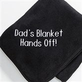Black Fleece Blanket - 7810-B