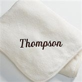 You Name It! Fleece Blanket- Cream - 7810-C
