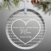 Always Loved Personalized Ornament - 7841N