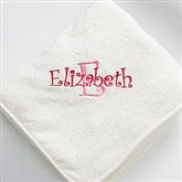 All About Me Fleece Blanket- Cream - 7850-C
