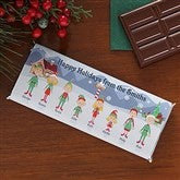Winter Family Personalized Candy Bar Wrappers - 7920