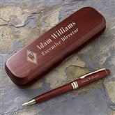 Executive Monogram Personalized Pen Set - 7931