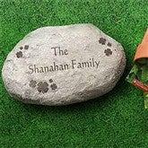 Irish Clover Large Personalized Garden Stone - 7966-LN