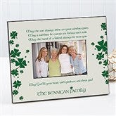 Irish Blessing Personalized Frame