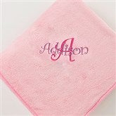 Personalized You Name It Fleece Blanket- Pretty Pink - 7969-P
