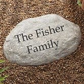 You Name It Large Personalized Garden Stone - 7970-LN