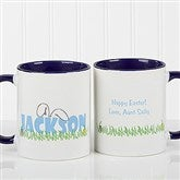 Ears To You Personalized Coffee Mug- 11oz.- Blue - 7976-BL