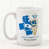 11 Medical Specialties© Personalized Coffee Mug 15 oz.- White - 8011-L