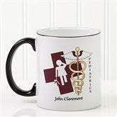 11 Medical Specialties Personalized Coffee Mug 11 oz.- Black - 8011-B