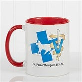 11 Medical Specialties Personalized Coffee Mug 11 oz.- Red - 8011-R