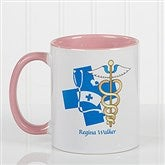 11 Medical Specialties Personalized Coffee Mug 11 oz.- Pink - 8011-P