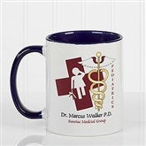 11 Medical Specialties Personalized Coffee Mug 11 oz.- Blue - 8011-BL