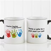 Touches A Life© Personalized Teacher Mug - 8027