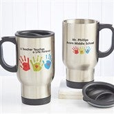 Touches A Life© Teacher Travel Mug - 8028