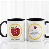 Teachers Inspire Personalized Coffee Mug 11oz.- Black - 8036-B