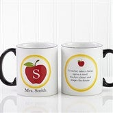 Teachers Inspire Personalized Coffee Mug 11oz.- Black - 8036-B