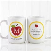 Teachers Inspire Personalized Coffee Mug 15 oz.- White - 8036-L