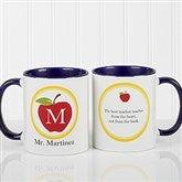 Teachers Inspire Personalized Coffee Mug 11oz.- Blue - 8036-BL