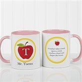 Teachers Inspire Personalized Coffee Mug 11oz.- Pink - 8036-P