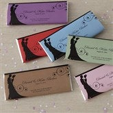 Silhouette Personalized Candy Bar Wrappers - 8116