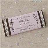 Filigree Custom Candy Bar Wrappers - 8117-WO
