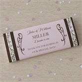Filigree Custom Candy Bar Wrappers - 8117-WO