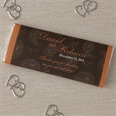 Paisley Custom Candy Bar Wrappers - 8118-WOP