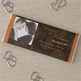 Paisley Photo Candy Bar Wrappers - 8118-WP