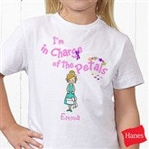 Our Flower Girl Personalized Hanes® Youth T-Shirt - 8124-YCT