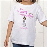 Our Flower Girl Personalized Toddler T-Shirt - 8124-TT