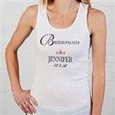 Bridal Party Personalized Ladies Tank - 8128-T