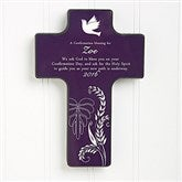 A Confirmation Blessing© Personalized Wall Cross - 8129
