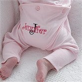 All About Me Personalized Pink Romper - 8134