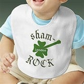 Sham-Rock Personalized Bib - 8142B