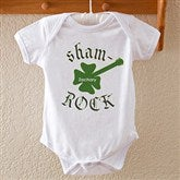 Sham-Rock Personalized Baby Bodysuit - 8142-BB