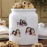 Photo Collage Cookie Jar - 3 Photos - 8156-3