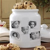 Photo Collage Cookie Jar - 5 Photos - 8156-5