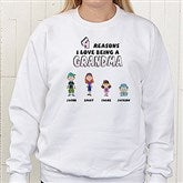 Reasons Why© Personalized Adult Sweatshirt - 8159S