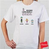 Her Reasons Why Personalized Adult T-Shirt - 8159-CT