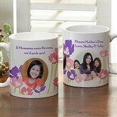 Just For Her Personalized 3 Photo Mug- 11 oz. - 8162-S