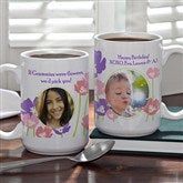 Just For Her Personalized 3 Photo Mug- 15 oz. - 8162-L