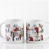 Create A Photo Collage Personalized Coffee Mug 11 oz.- White - 8214-S