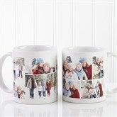 Create A Photo Collage Personalized Coffee Mug 11 oz.- White - 8214-S