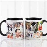 Create A Photo Collage Personalized Coffee Mug 11oz.- Black - 8214-B