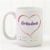 All Our Hearts Coffee Mug- 15 oz. - 8218-L