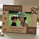 You & Me Personalized Photo Frame- 4x6 - 8238-S