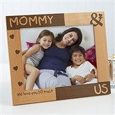 You & Me Personalized Picture Frame- 8 x 10 - 8238-L
