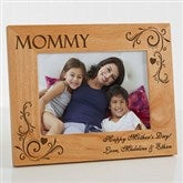 Loving Hearts Personalized Photo Frame- 5 x 7 - 8240-M