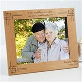 Never Forgotten Personalized Frame- 8 x 10 - 8247-L